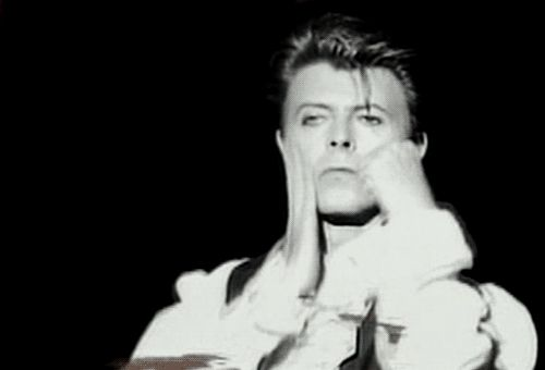 When you know you're looking good and you'd like to invite someone to flirt. | Community Post: 34 Perfect David Bowie GIFs For Every Occasion