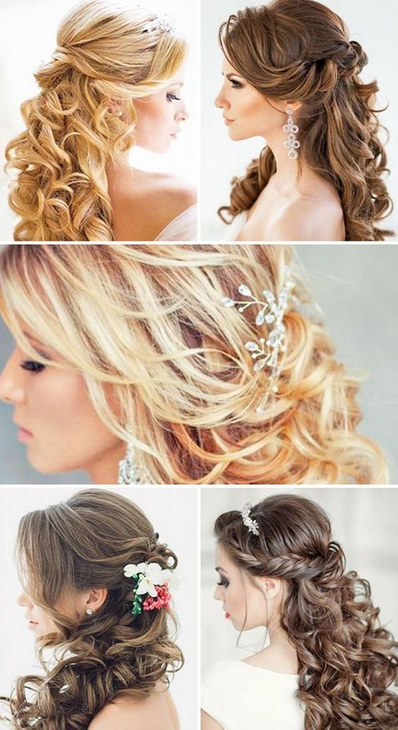 hair down for wedding styles the world s catalog of ideas 3504 | 1414d004c296a9732fcfe94df5d7f511