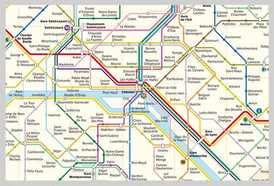 Paristrainmap Subway Pinterest Train Map: Train Map Of Paris At Infoasik.co