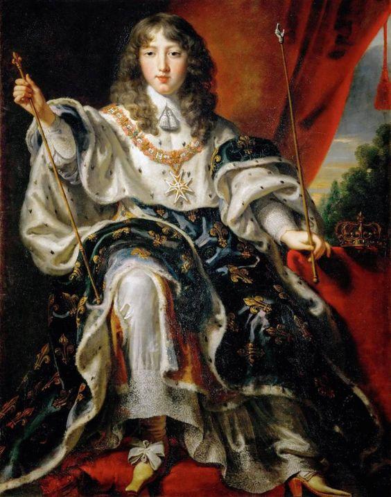 Louis XIV à 16 ans