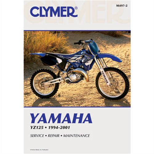 Ebay Sponsored Clymer Repair Manuals M4972 Yamaha Yz125 1994 2001 Motorcycle Repair Clymer Yamaha