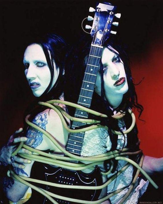 Marilyn Manson & Twiggy Ramirez