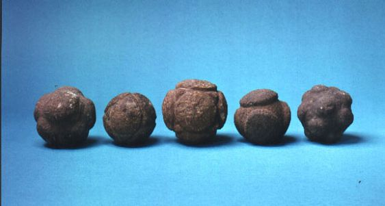 Neolithic Carved Stone Polyhedra