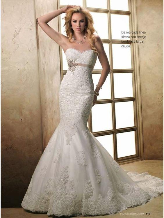 Vestido Para, Vestidos De Novia, Novias Novias, Mejores Vestidos, Corte Sirena, Elegantes Buscar, Novia Elegantes, Bodas, Encaje 2015