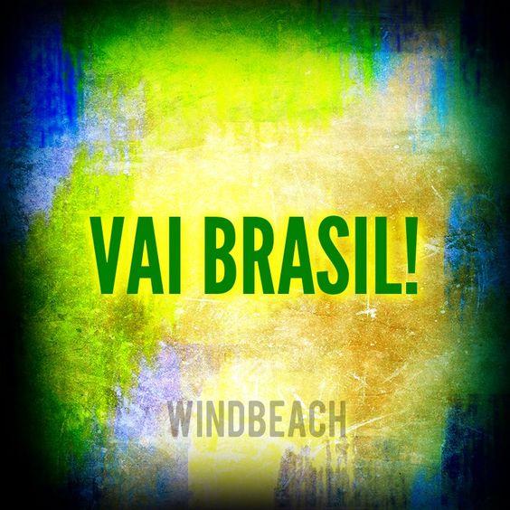 Começou o jogo! Vamos torcer!! #Windbeach #copa2014 #vaibrasil