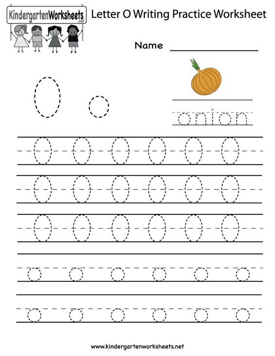 math worksheet : kindergarten letter o writing practice worksheet printable  : Letter O Worksheets Kindergarten