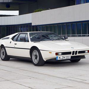 The BMW M1 was produced from 1978 to 1981. Acceleration 4.5 sec from 0 to 100 km/h and top speed 310 km/h. © BMW