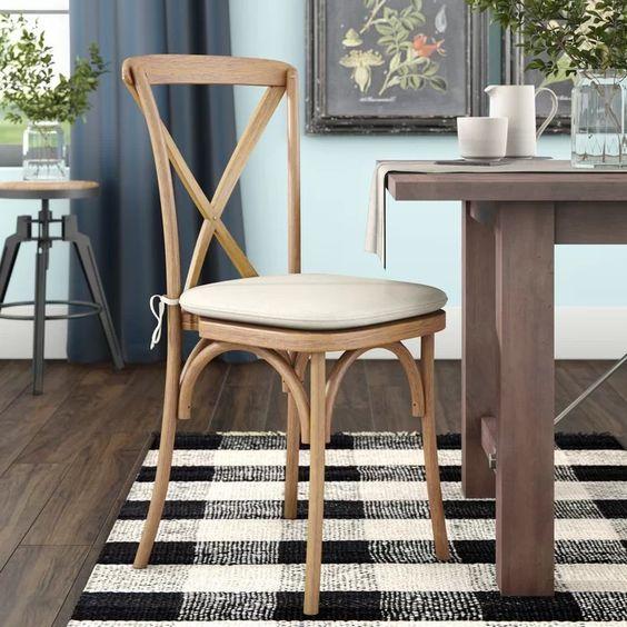 Wayfair Hibbler chair color: raw tint