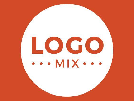 """Consulta este proyecto @Behance: """"Logo Mix""""…"""