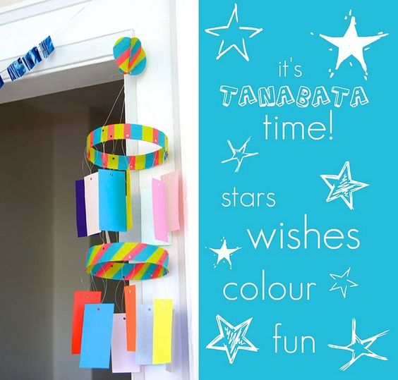 tanabata paper craft