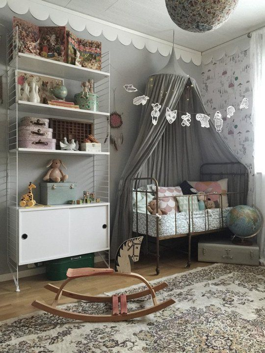 "There are a handful of reasons you might not want to push the color pink on your little girl, and chief among them might possibly just be ""I don't like pink."" Shopping in the kids department might have you thinking that your only choice in girls' decor is between ""blush"" or ""petal pink,"" but these 12 rooms can show you differently.:"