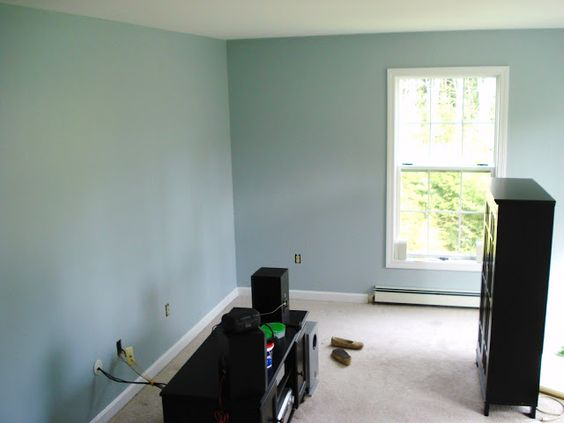 Blue living rooms behr and living rooms on pinterest for Behr paint bedroom ideas