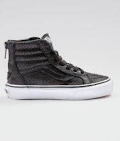 Vans high-top zip sneaker