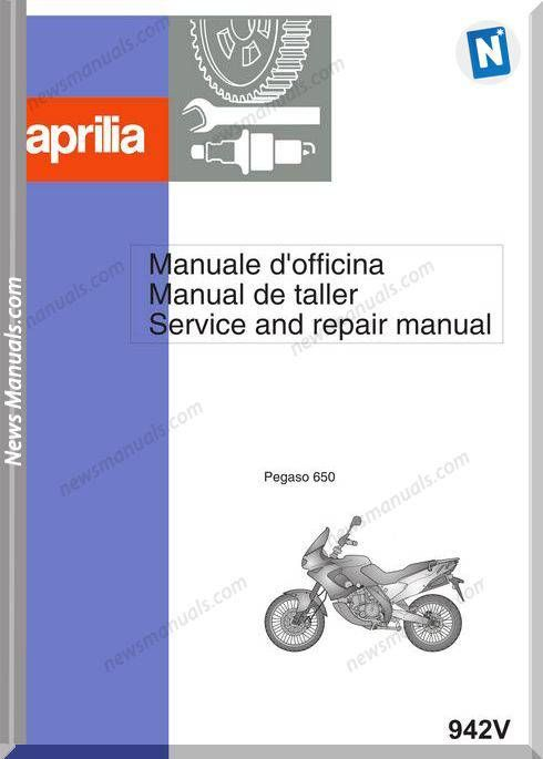 Aprilia Pegaso 650 97 Service Manual Aprilia Manual Repair Manuals