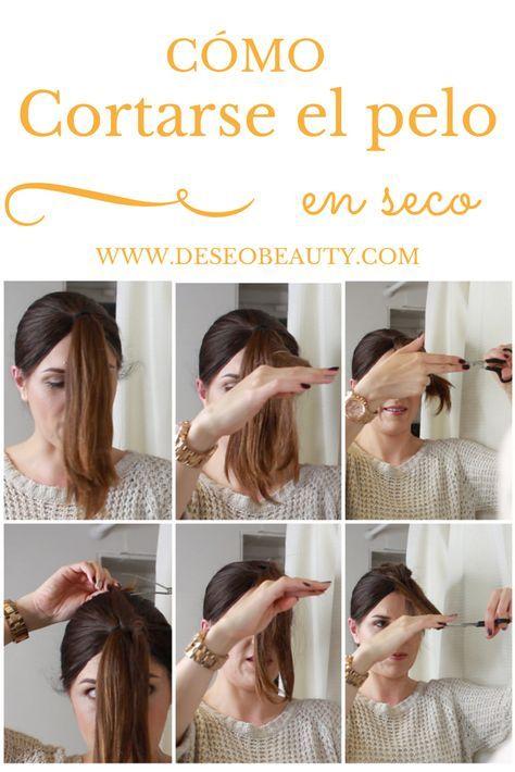 Corte de pelo en v uno mismo
