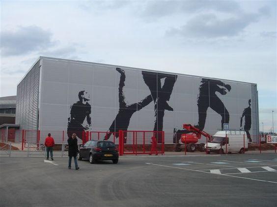 Extension Palais des sport Elispace à Beauvais - Livré en 1999 - Alain Domingo  -  #batiserf #architecture