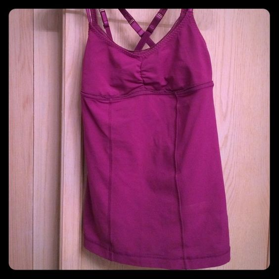 Lululemon top Lululemon tank.. Great condition just too  tight. For me Bought a size to small for me.. Willing to negotiate or trade lululemon athletica Tops Tank Tops