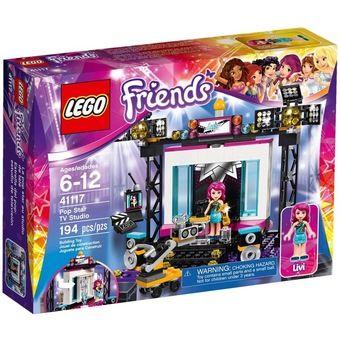 ลดแล้วลดอีก อย่าพลาด ซื้อเลย LEGO Friends 41117 Pop Star TV Studio ปลอดภัย มีมาตรฐาน ได้รับการรับรอง