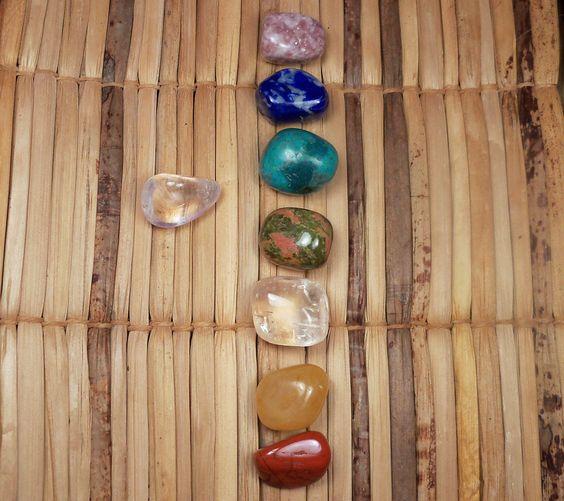 7 Chakra Stones Box Set
