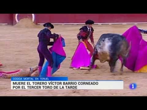 Muere el torero Víctor Barrio a los 29 años por una cornada en la plaza ...