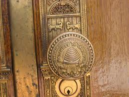 SLC Brass Doorknob