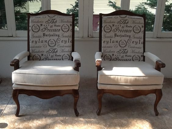 Vintage, Chairs and Repurposed on Pinterest