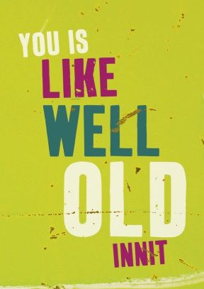 Well+Old+|+Funny+Birthday+Card