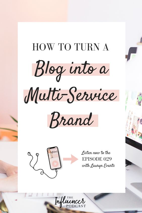How can an influencer be taken more seriously in the eye of a brand. Learn how to turn a blog into a multi-service brand. Listen to this episode of The Influencer Podcast with Lauryn Evarts & Julie Solomon. #TheInfluencerPodcast #InfluencerMarketing #Influencer #Marketing #Brand #blogging #businessplan