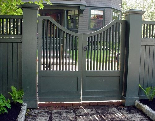 Gates Privacy Fences And Picket Fences On Pinterest