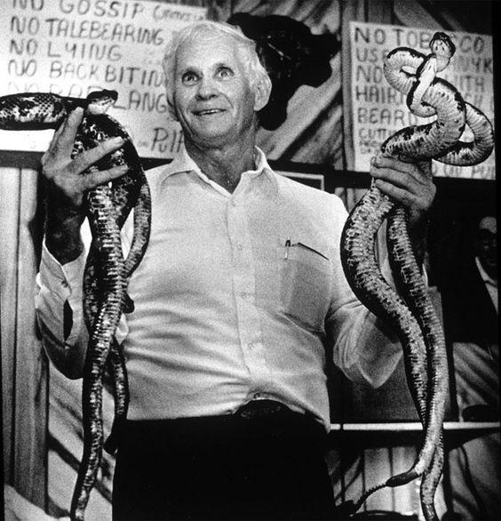 snake handling in Appalachia