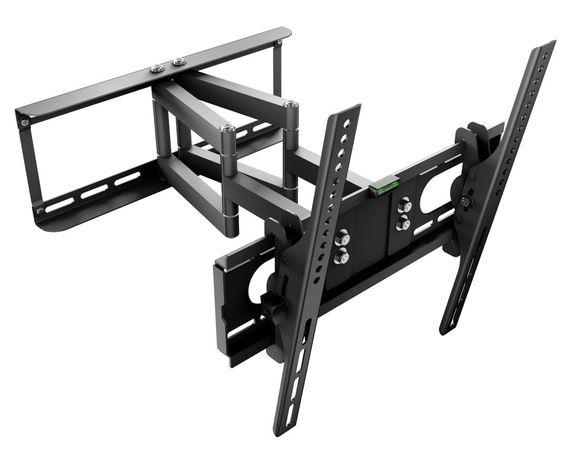 wandhalterung schwenkbar neigbar frontplattendrehbar f r led lcd plasma tv ger te. Black Bedroom Furniture Sets. Home Design Ideas