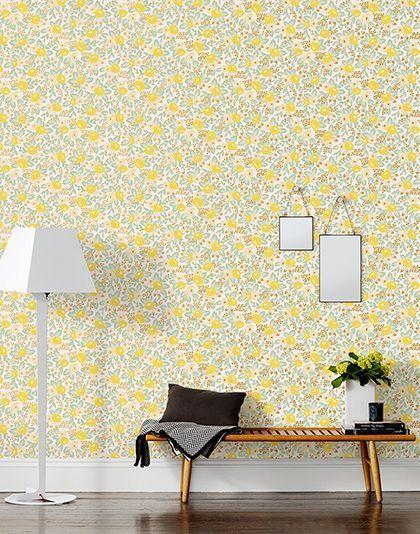 ideen für tapeten u. wallpaper zur raum und wandgestaltung