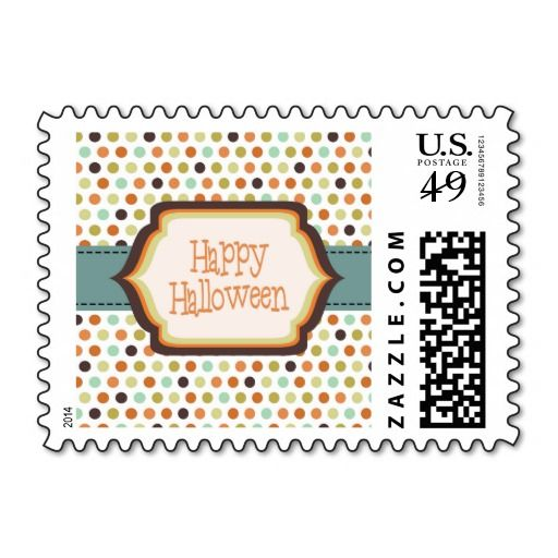 Cute Halloween Postage | Party Time!