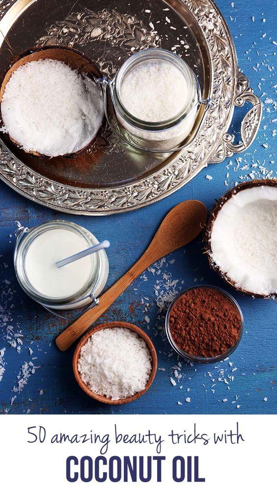 coconut oil beauty 4