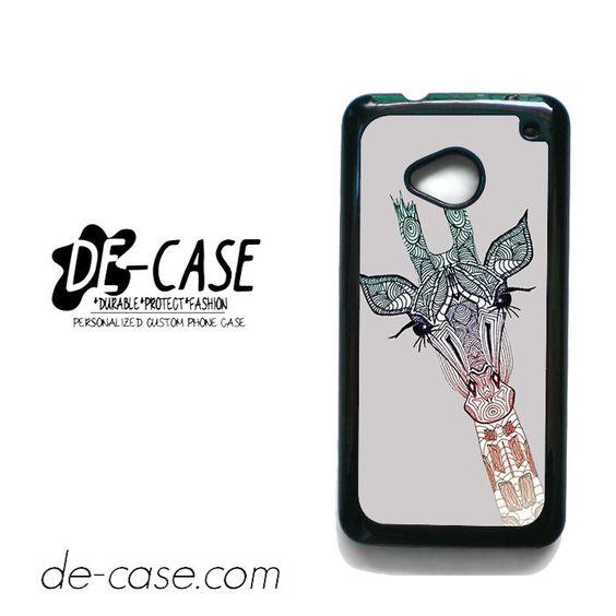 Giraffe For HTC One M7 Case Phone Case Gift Present YO