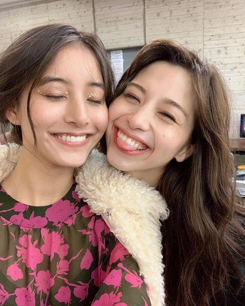 新木優子、中条あやみとの2ショット公開「美の暴力」「無敵の美女2人 ...