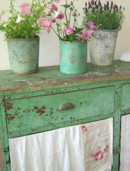 Shabby Green And Shabby Chic On Pinterest