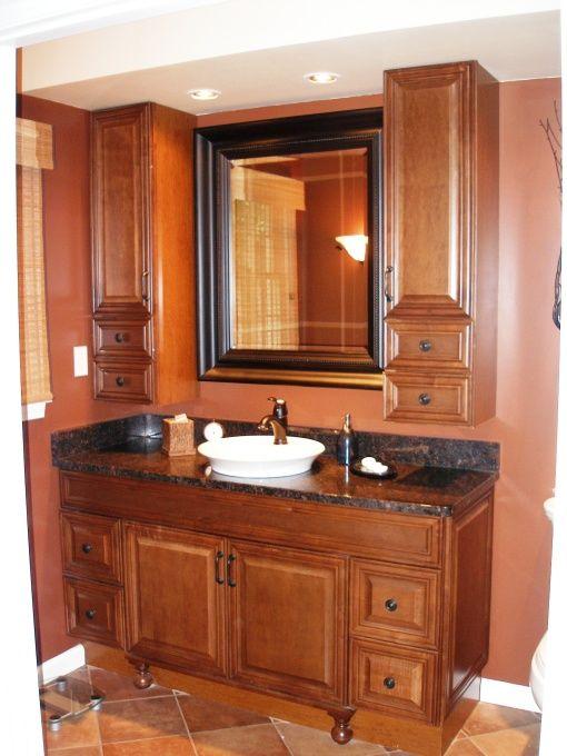 master bath wall/sinks