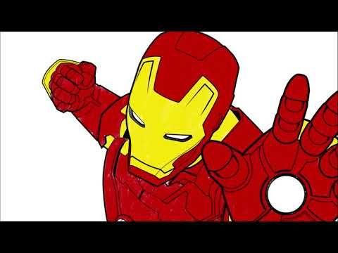 Iron Man Coloring Page Part 2 Let S Color Colouring Pages For Kids Youtube Colouring Pages Coloring Pages For Kids Coloring Pages