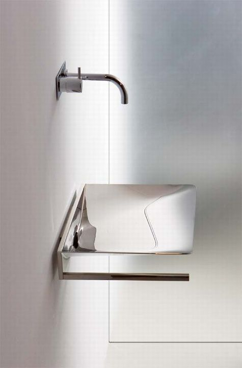 Rapsel X-Treme, wash-basins bath design line by Peter Büchele.