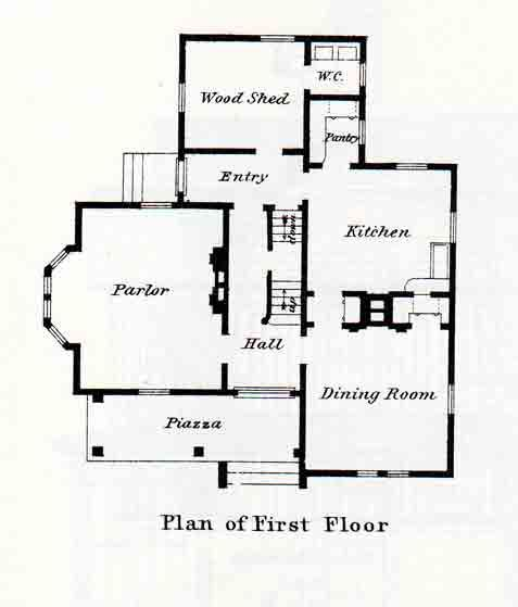 Folk Victorian Farmhouse Floor Plans Design Inspiration