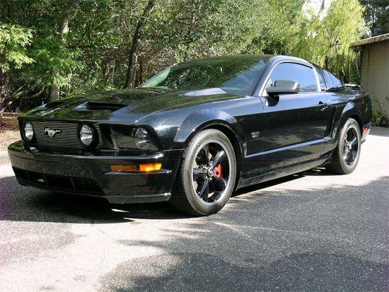 Matt's Car - 2006 Mustang Gt Black