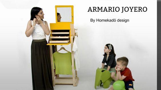 Crea un hogar único con el armario joyero de Homekadö. armariojoyero.launchrock.com