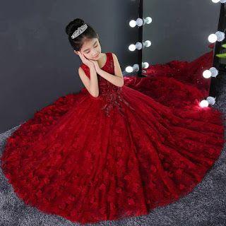 فساتين سواريه اطفال تفصيلات فساتين سواريه بناتي جديدة 2021 Prom Party Dresses Cheap Girl Dresses Flower Girl Dresses