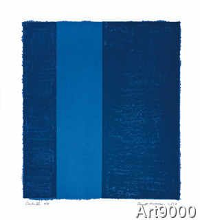 Barnett Newman - Canto VII, 1963