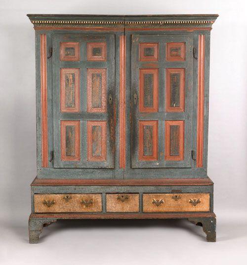 Catalog Antique Furniture Painting, Country Primitive Furniture Pennsylvania