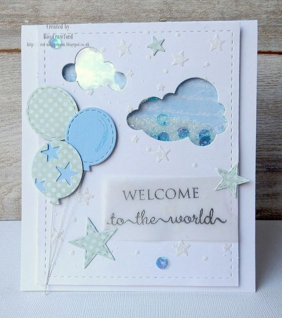Mikey's Mom: Baby Card