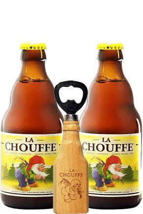 Kit La Chouffe com abridor de presente!