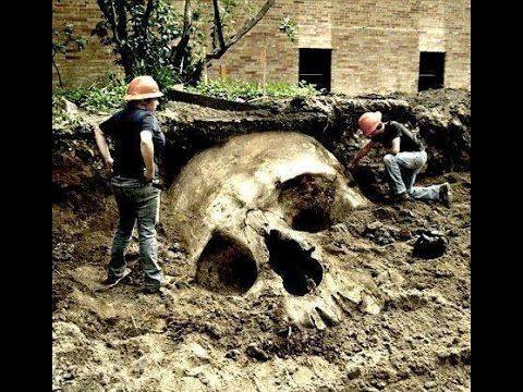 "dr.hovind: giant ""human"" skeletons illuminati cover up exposed, Skeleton"