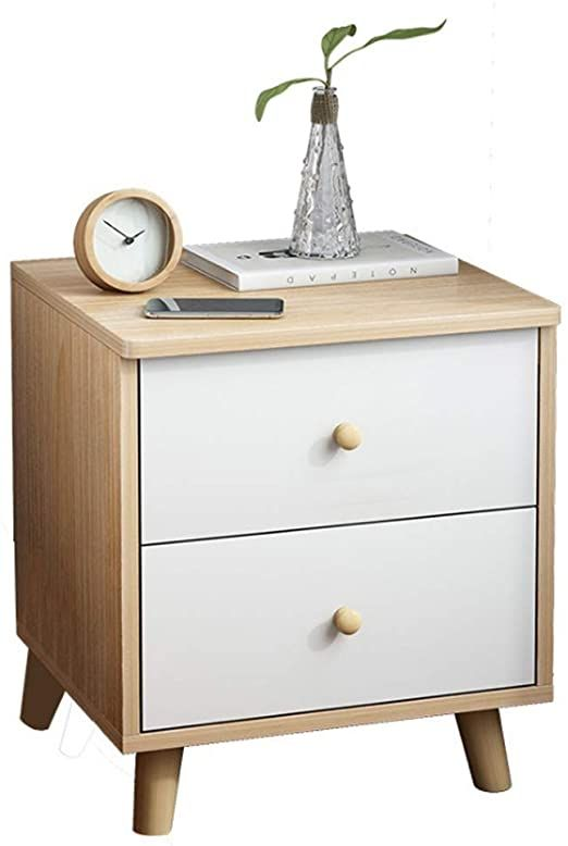 Yo Yo2015 Nightstand Wooden Nightstand Storage Cabinet With Drawer Organizer Detachable Assem In 2020 Nightstand Storage Wooden Nightstand Storage Cabinet With Drawers